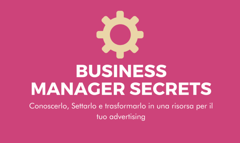 Impostare il Business Manager